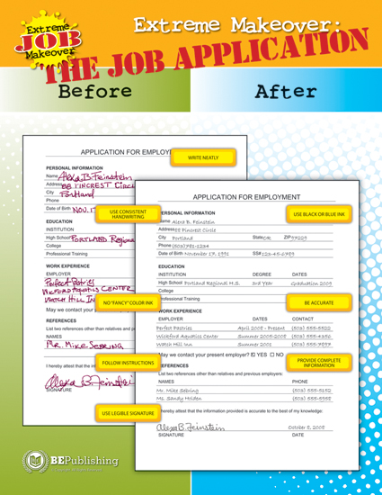 Extreme Job Makeover Poster Series Set Of 5