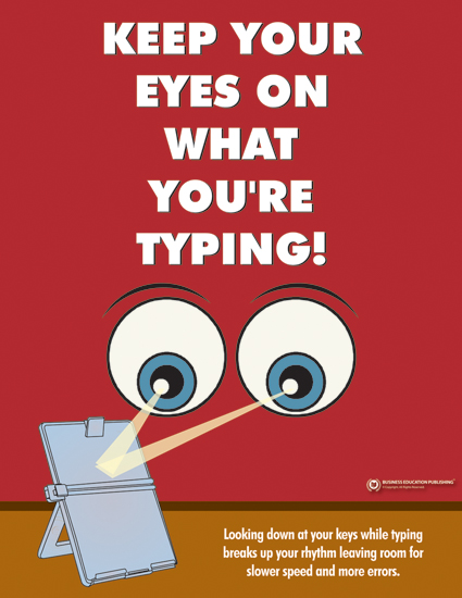 Keep Your Eyes On What You Re Typing