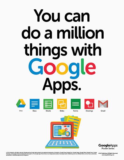 google apps poster series. Black Bedroom Furniture Sets. Home Design Ideas