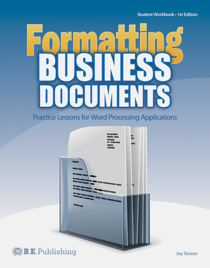 formatting business documents - Business Documents