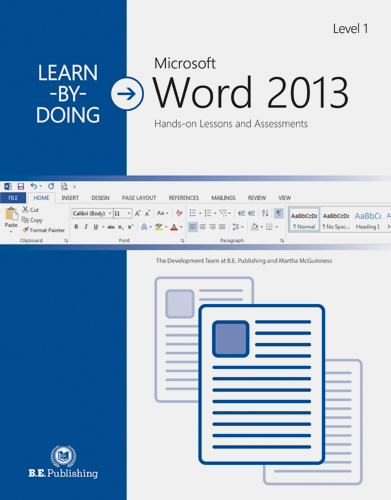 learn by doing microsoft word 2013