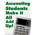 Accounting Students Make It All Add Up!