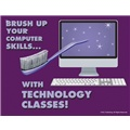 Brush Up Your Computer Skills With Technology Classes!