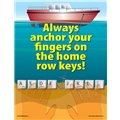 Always Anchor Your Fingers on the Home Row Keys!