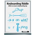 Keep Your Eyes on What You Are Typing Keyboarding Riddle